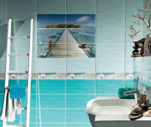 плочки за баня Maxima Azure 22,3x44,8
