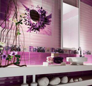 плочки за баня Maxima Violet 22,3x44,8