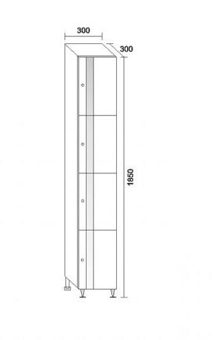 водоустойчива пвц колона за баня белла