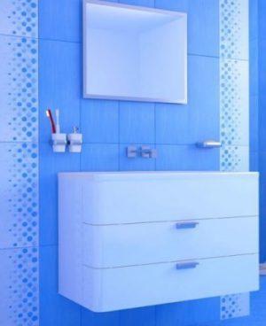 плочки за баня Domenico Blue 20x50