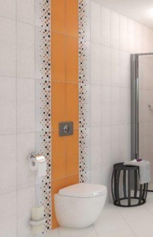 плочки за баня Domenico Orange 20x50