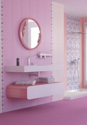плочки за баня Dreams Lila 25x50