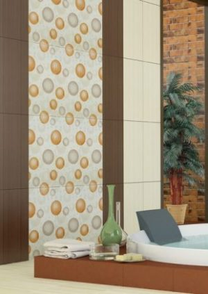 плочки за баня Dreams Orange 25x50