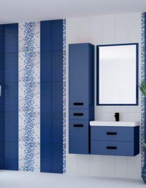плочки за баня France Blue 20x50