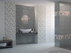 плочки за баня Joy Grey Wave 22,3x44,8