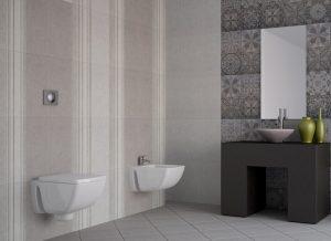 плочки за баня Klio Gris 25x50