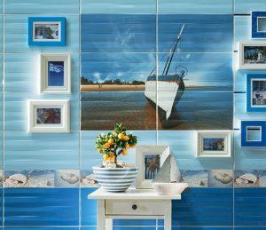 плочки за баня Maxima Blue 22,3x44,8