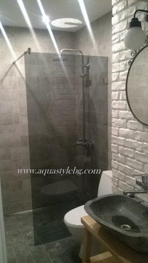 Стационарен параван за баня, Classic