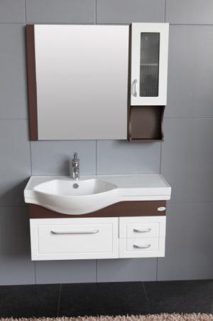 комплект пвц шкаф за баня icp 133