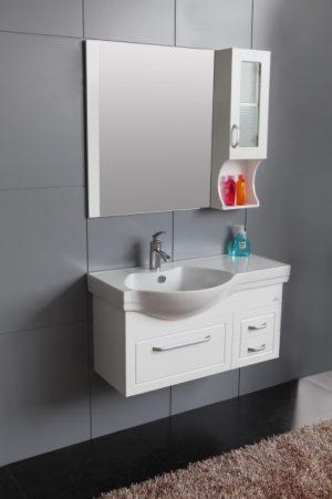 комплект пвц шкаф за баня icp 133w