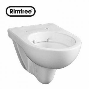 Висяща тоалетна чиния NOVA PRO без ринг