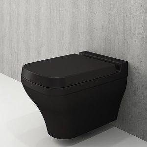 Scala Arch конзолна WC черен мат