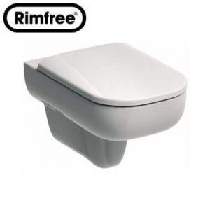Висяща тоалетна чиния TRAFFIC Rimfree