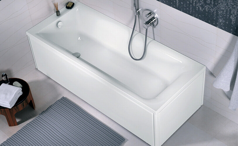 правоъгълна вана REKORD 160x70