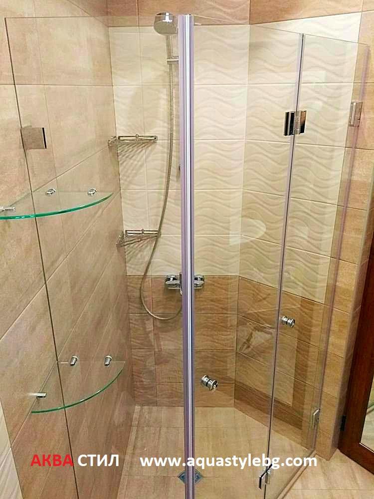 Огледала и полици за баня по поръчка