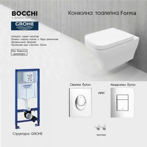 ПРОМО ПАКЕТ GROHE+FORMA С ДЕБЕЛ КАПАК