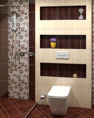 плочки за баня pino graphito 25x40