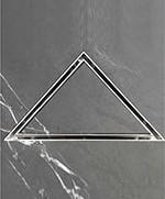 триъгълен сифон за плочка