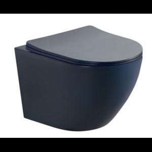 висяща тоалетна icc 4937b -черен мат Rimless