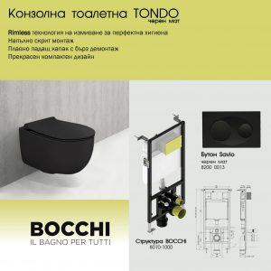 ПАКЕТ BOCCHI+TONDO със SLIM КАПАК