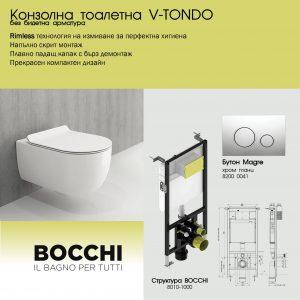 ПАКЕТ BOCCHI + V-TONDO БЕЗ БИДЕ