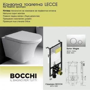 ПАКЕТ BOCCHI + LECCE RIMLESS